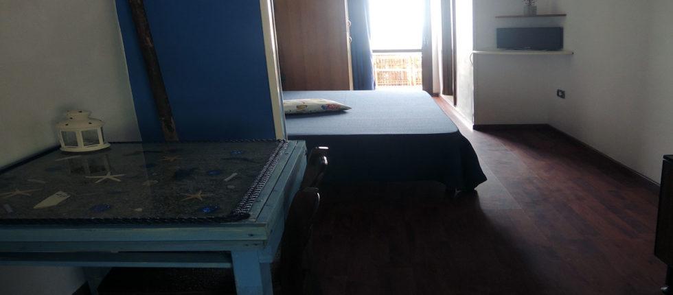 Camera dotata di un letto matrimoniale alla francese ed è abitualmente richiesta ad uso singola ma risulta ugualmente comoda per soggiorni di coppie.
